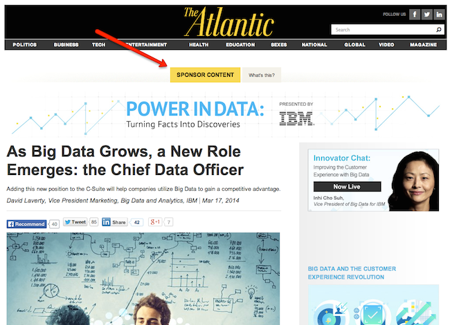 IMB branded content on Atlantic 6 Tricks To Help You Monetize Web Traffic