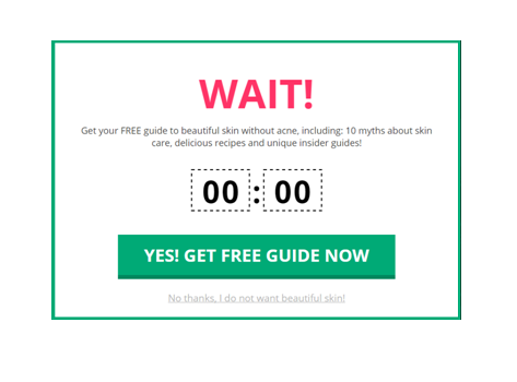 limited time offer picreel1 Best way to increase conversions on Black Friday
